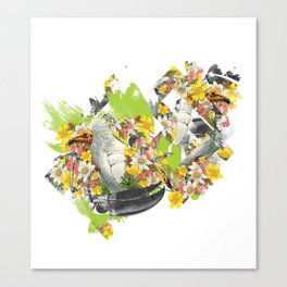 Terror Tropical 1 Canvas Print