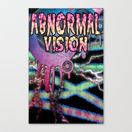 Abnormal Vision pt. 3 Canvas Print