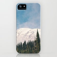 Mount Rainier in the Winter Slim Case iPhone (5, 5s)