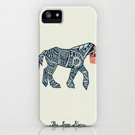 Iron Horse iPhone Case