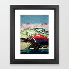 Winter in Keiisino Framed Art Print