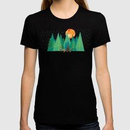 Take a walk under the moon T-shirt