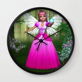 Fairy Goodness Wall Clock