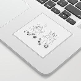 Solar System II Sticker