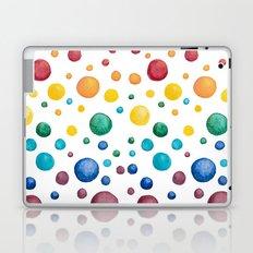 Rainbow Chakra Watercolor Circles Laptop & iPad Skin