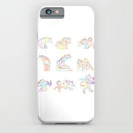 Coloful Pattern Hyena iPhone Case