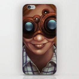 Steampunk VR iPhone Skin