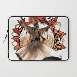 Dervish rumi arabic quote sufi Laptop Sleeve