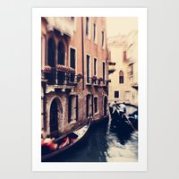 venice Art Prints featuring Venice by Ingrid Beddoes