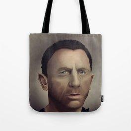 Daniel Craig Tote Bag