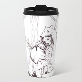 Huntress Metal Travel Mug