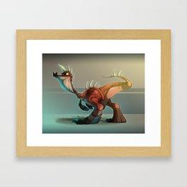 Crovux Dinosaur Framed Art Print