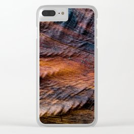 Dreamy Driftwood I Clear iPhone Case