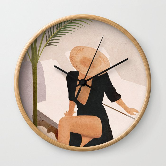 That Summer Feeling I Wall Clock