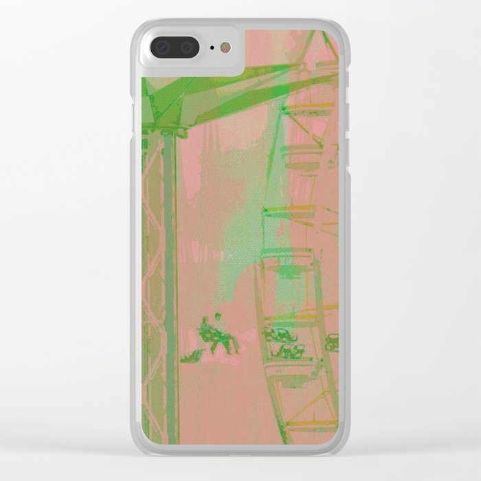 Carnival Rides Clear iPhone Case