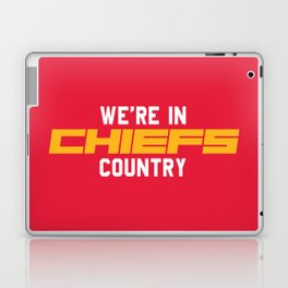 We're in Chiefs Country Laptop & iPad Skin