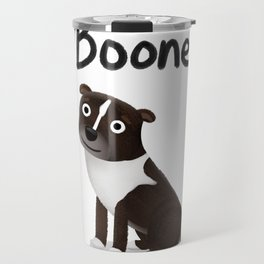 "Custom Artwork, ""Boone"" Travel Mug"