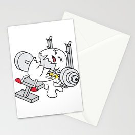 """""""Cracked Egg"""" tee design. Unique and one of a kind gift perfect for this seasons of giving!  Stationery Cards"""