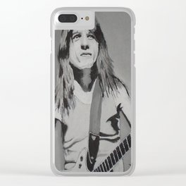 Malcolm Young Clear iPhone Case