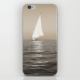 Ship on the Nile iPhone Skin
