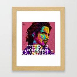 chris cornell tribute Framed Art Print