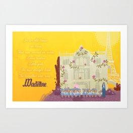 Madeline. Art Print