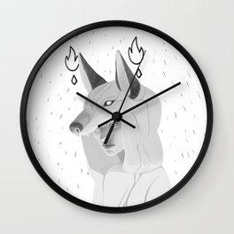 Wilczyca - White Wall Clock