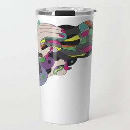 the ministry of elborate hair-dos Travel Mug