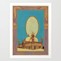 The Qalam Series: Mughal Miniature Art Print