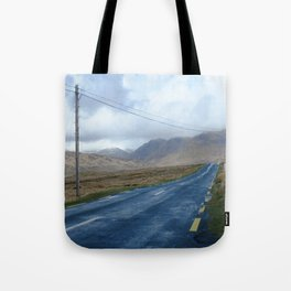 On the road.  Tote Bag
