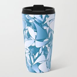 Pattern blue 155 Travel Mug