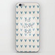 P.S I Love You  iPhone & iPod Skin