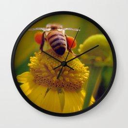 Bee Buzzy Wall Clock