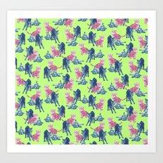 Pop Kittens Art Print