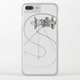 Satellite Cassini S Clear iPhone Case