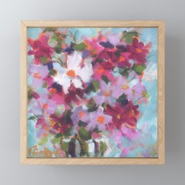 Cosmos Confection Framed Mini Art Print