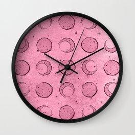 Moon 2 Wall Clock
