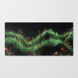 Meadow with Mushrooms and Moss: The Nude Canvas Print