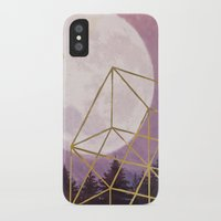 the moon iPhone & iPod Cases featuring moon by Laura Graves