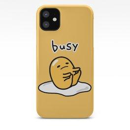 Gudetama Busy 2 iPhone Case