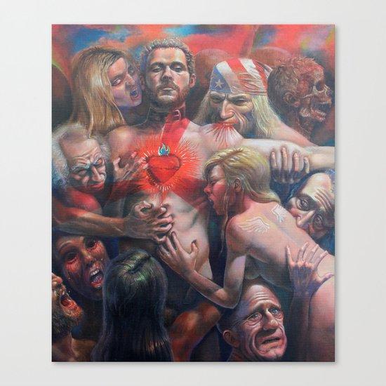 Orgía Caníval Canvas Print