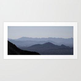 Camelback Mtn Art Print