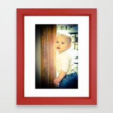 carson's 1 Framed Art Print