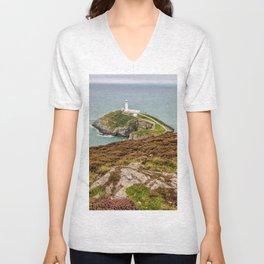 South Stack Lighthouse Unisex V-Neck