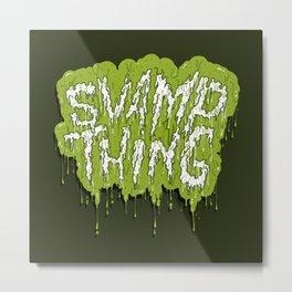 Swamp Thing Metal Print
