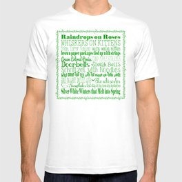 A Few of My Favorite Things - Green T-shirt