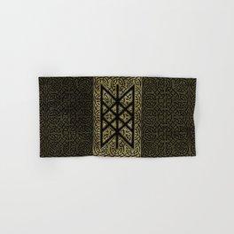 Web of Wyrd  -The Matrix of Fate Hand & Bath Towel