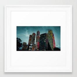 Moscow City Framed Art Print