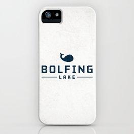 BOLFING LAKE iPhone Case