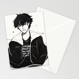 Nico Di Angelo - 'With great power, comes the great need to take a nap.' Stationery Cards